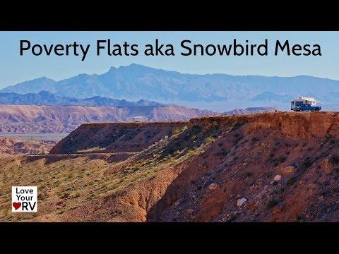 Free Camping at Poverty Flats AKA Snowbird Mesa, Nevada