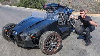 THE SCARIEST CAR I'VE EVER DRIVEN *Almost Crashed* thumbnail