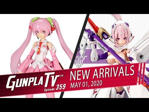 New Kotobukiya Arrivals For May 1st | Gunpla TV 359