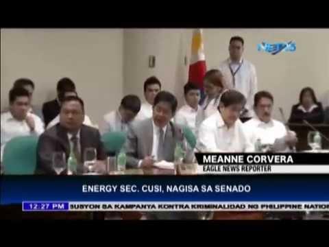 Energy Secretary Cusi placed in Senate hot seat