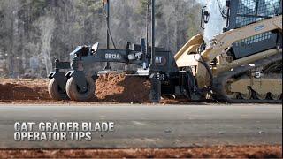 Cat® SMART Grader Blade Operator Tips