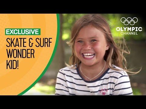 Surf and Skate Wonder Kid Sky Brown eyeing Tokyo 2020 | Exclusive Interview