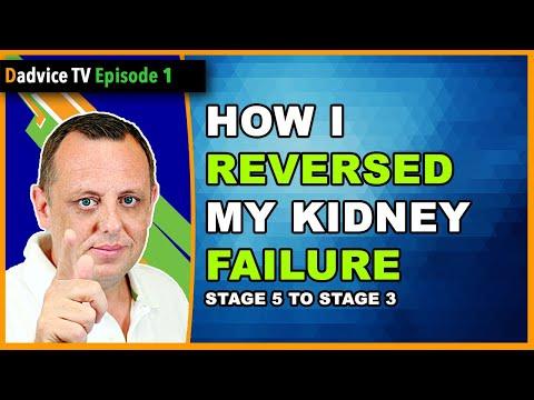 Chronic Kidney Disease: Reverse Stage 5 KIDNEY FAILURE & regain kidney function to AVOID DIALYSIS