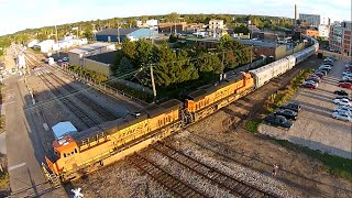 The Circus Train from the Skies! (Drone Video)