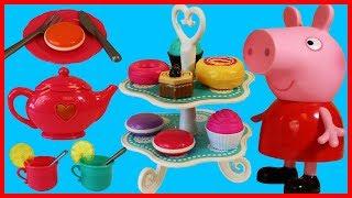 粉紅豬小妹的下午茶玩具蛋糕甜點扮家家酒