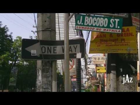 [HD] Manila Street Scenes (23) - Jorge Bocobo Street, Ermita Manila