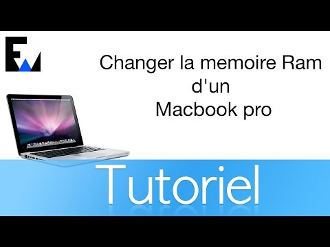 tuto changer la memoire ram d 39 un macbook pro youtube. Black Bedroom Furniture Sets. Home Design Ideas