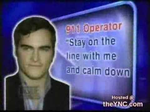 Joaquin Phoenix 911 phonecall