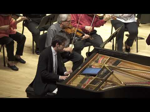 W.A. Mozart, Piano Concerto K. 414, Andrew Hauze, piano