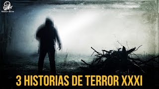 3 Historias De Terror Vol. 31 (Relatos De Horror)