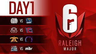Six Major Raleigh グループステージ Day1 23:00- Team Empire vs Team ...