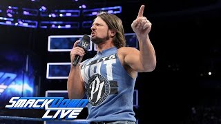 AJ Styles sounds off on Shane McMahon: SmackDown LIVE, March 14, 2017
