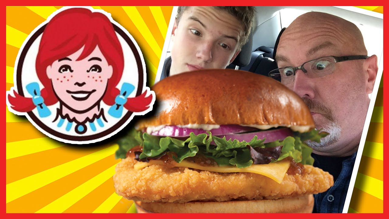 Wendy's Smoked Gouda Chicken On Brioche Plus Drive-Thru Experience