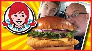 Wendy's Smoked Gouda Chicken On Brioche Plus Drive-thru Experience