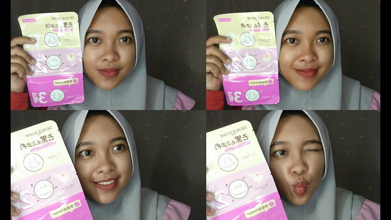 Review Bioaqua Remove Nose Black Head 3 Step Kit First Impression By Vapinka Makeup Youtube