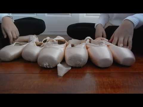 Bloch pointe shoe review (Heritage, Synergy & Suprima)