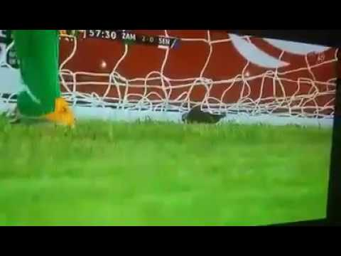 Senegal U20 player caught on camera Planting Charms