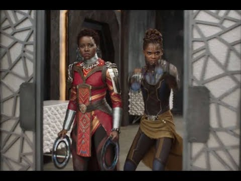 Dark Skinned Female Masculinity & The Black Panther Trailer