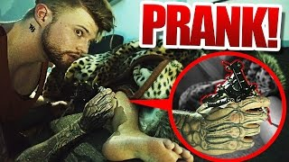 TATTOO PRANK!