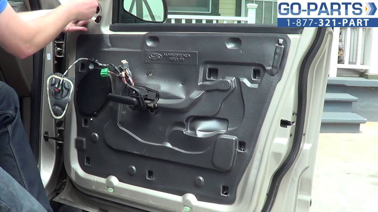 hight resolution of replace 2001 2005 ford explorer side mirror how to change install 2002 2003 2004 fo1321211 youtube