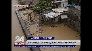 San Mateo, Rizal, binaha dahil sa Bagyong Ompong