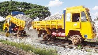 TRACK BALLASTING : Indian Railways STYLE thumbnail