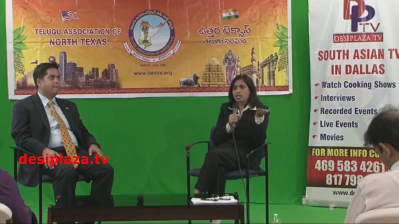 Geeta Dammanna Immigration Seminar - Organized by TANTEX