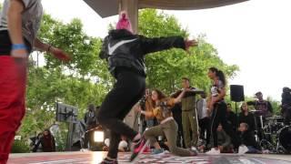 1/2 finale Battle Bgirls 2vs2 - Bgirls Leila & carlotta Vs Peste Ana & Aby
