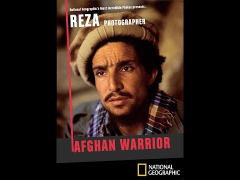 Reza photographer - Afghan Warrior