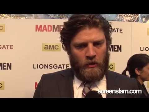 "Mad Men Final Season: Jay R. Ferguson ""Stan Rizzo"" Premiere Interview"