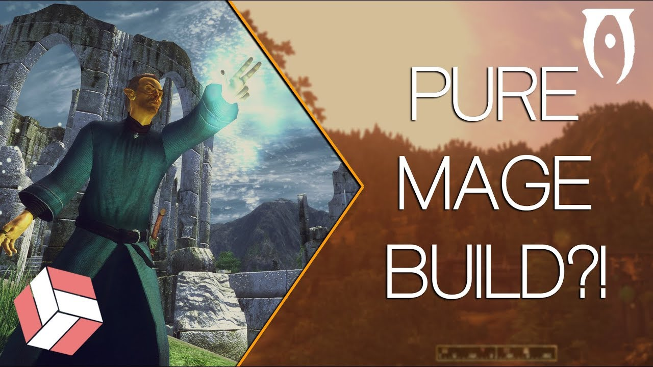 Oblivion - Character Builds: The Pure Mage (2018 Class Guide)