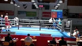 Между народный турнир по боксу Финляндия 1 день Франция vs Kazakstan