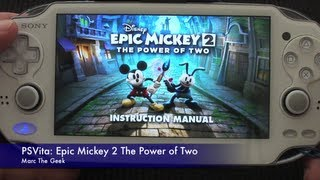 PSVita: Epic Mickey 2 The Power of Two Hands On