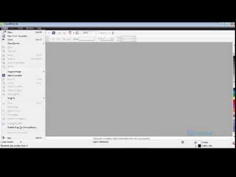 Belajar Corel Draw X6 Untuk Pemula - YouTube
