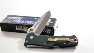 Нож складной, Cold Steel Golden Eye, Tanto
