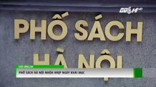 (VTC14)_Phố sách Hà Nội nhộn nhịp ngày khai mạc