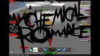 Ma romance chimique- Na na na (Roblox MV)
