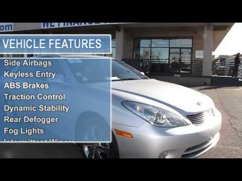 2005 lexus es 330 reliable auto sales las vegas nv 89104 youtube. Black Bedroom Furniture Sets. Home Design Ideas