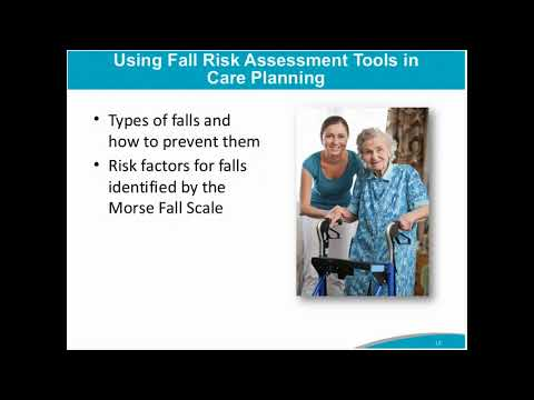 Using Fall Risk Assessment Tools In Care Planning - AHRQ Toolkit For  Preventing Falls In Hospitals