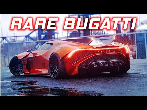 Top 10 Most EXPENSIVE and RAREST BUGATTI all of time