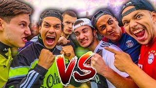 EPISCHE 3 VS 3 FUßBALL CHALLENGE + BESTRAFUNG