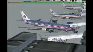 American Airlines Flight 112 to Barcelona, Spain (FS2004)
