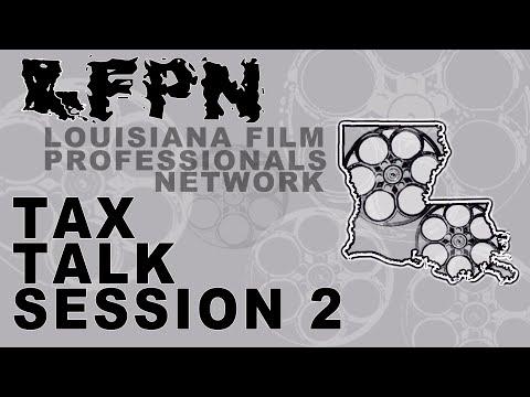Tax Talk Session 2
