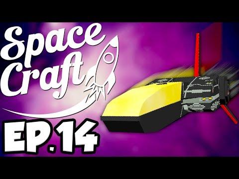 SpaceCraft: Minecraft Modded Survival Ep.14 - Making A Spacecraft! (Minecraft Mods)