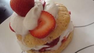 Vegan Strawberry Shortcake Recipe - Skyyjohn - Vegan Dessert Recipes
