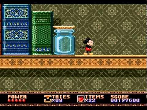 Castle of Illusion (Sega Genesis / Mega Drive) - Full Game