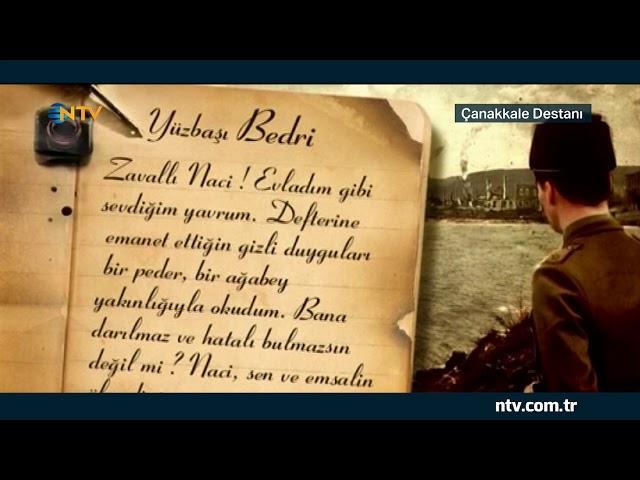 Şehit Teğmen İbrahim Naci'nin günlüğü