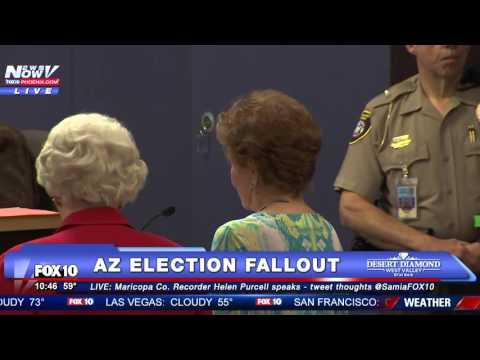 FNN: Board of Supervisors Meeting on Controversial AZ Primary Election, Feat. Helen Purcell - PART 1