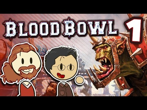 Blood Bowl - #1 - The RNG Wars - WILL vs FRED