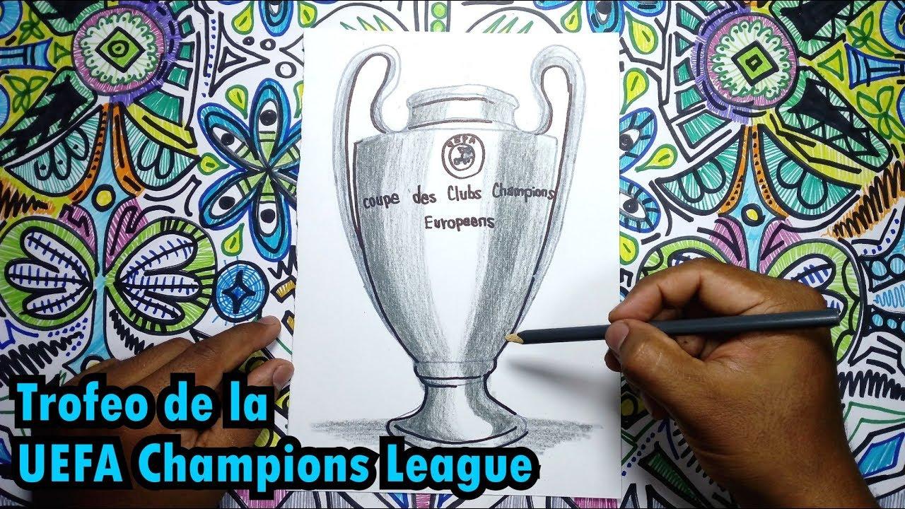 Dibujos Para Colorear De Trofeos De Futbol